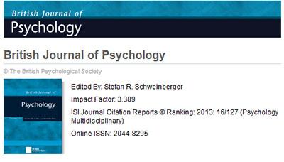 british journal of psychology