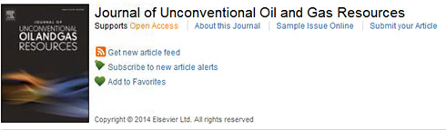 journal of unconventional oil and gas resources